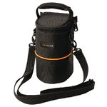 Camera Lens Beschermtas 90 x 150 x 70 mm Zwart/Oranje