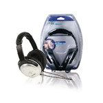 HQ | Hoofdtelefoon Over-Ear 3.5 mm Zilver/Zwart