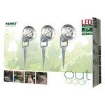 Ranex | LED Grond Spot 21.6 W 120 lm 5700 K | Set van 3 spots