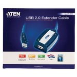 Actieve USB 2.0 Verlengkabel USB A Male - USB A Female 5 m Grijs