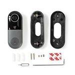 Nedis | Slimme deurbel | WiFi Smart Videodeurbel | Bediening via App | microSD-Sleuf | HD 720p