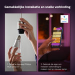 Philips | Philips Hue losse lampen - White and Color - E27 (2-pack)