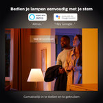 Philips | Slimme Verlichting | Philips Hue starter kit - White and Color - E27 (3 lampen + bridge + 2 dimmers)
