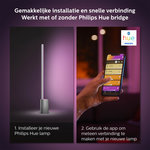 Philips | Slimme Verlichting | Philips Hue Signe tafellamp - White and Color