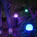 Philips | Philips Hue Outdoor Calla Sokkel Zwart, groot, basis, 24V (White and Color)