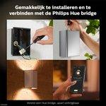 Philips | Slimme Verlichting | Philips Hue Outdoor Resonate wandlamp - White & Color - aluminium