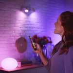 Philips | Slimme Verlichting | Philips Hue starter kit - White and Color - GU10 perfect fit (3 lampen + Bridge)