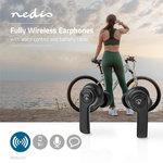 Nedis | Volledig draadloze Bluetooth® Oordopjes | 3.5 Uur Afspeeltijd | Charging Case | Zwart