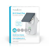 Nedis | WiFi Smart Plug voor Buiten | Spatwaterdicht | IP44 | Stroommeter | Frans Stopcontact Type E | 16 A_