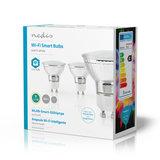 Nedis   WiFi Smart LED-Lamp   Warm Wit   GU10   3-Pack_