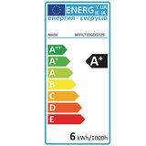 Nedis | WiFi Warm tot Koel Wit LED Filamentlamp| Gedraaid | E27 | G125 | 5,5 W | 350 lm_