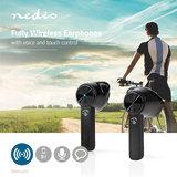 Nedis | Fully Wireless Bluetooth® Earphones | 3 Uur Playtime | Voice Control | Charging Case | Black_