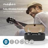 Nedis | Draadloze Oortjes | Bluetooth | In-ear | True Wireless Stereo (TWS) | Oplaadstation_