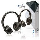 König | Headset On-Ear Bluetooth Ingebouwde Microfoon Zwart