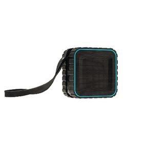 Bluetooth-Speaker 2.0 Explorer 3 W Ingebouwde Microfoon Zwart/Blauw