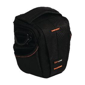 Camera Holster Tas 128 x 133 x 70 mm Zwart/Oranje