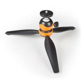 Buiten Statief 14 cm Zwart/Oranje