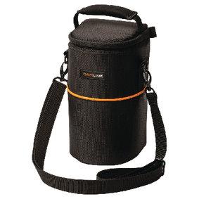 Camera Lens Beschermtas 110 x 210 x 100 mm Zwart/Oranje