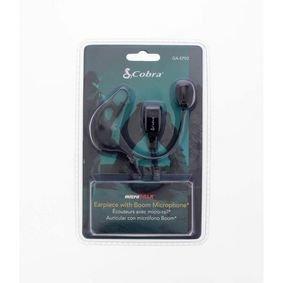 Cobra | Oortelefoontje Headset Met Microfoonboom 2.5 mm Intern Zwart