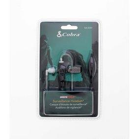 Cobra | Bewaking Headset 2.5 mm Zwart