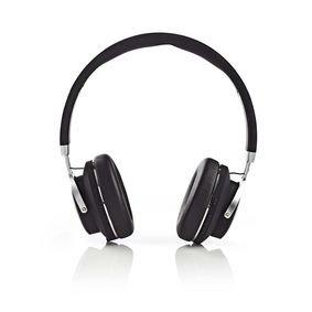 Nedis | Draadloze hoofdtelefoon | Bluetooth | On-ear | Travelcase | Zwart