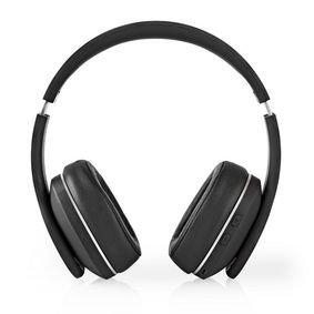 Nedis | Draadloze hoofdtelefoon | Bluetooth | Over-ear | Actieve ruisonderdrukking (ANC) | Zwart