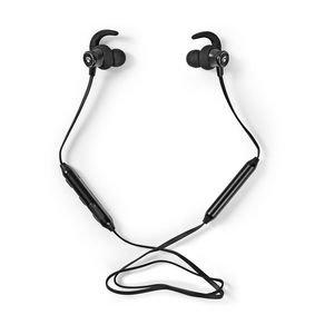 Nedis | Sport Oordopjes | Bluetooth | In-Ear | Flexibele Kabel | Zwart