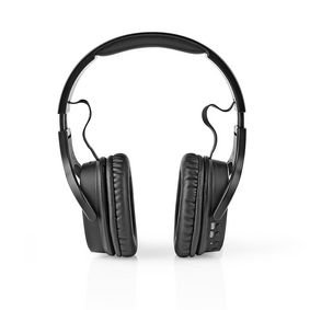 Nedis | Draadloze Koptelefoon | DAB+ / FM / Bluetooth | Over-Ear | Opvouwbaar | Reisetui | Zwart