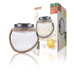 Ranex | Solar Tuinlamp LED | Glas