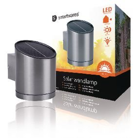 Ranex | Solar Wandlamp LED Zilver | Solar