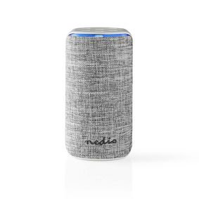 Nedis | Smart Wi-Fi-luidspreker | 15 W | Amazon Alexa Far Field spraakbediening | Wit