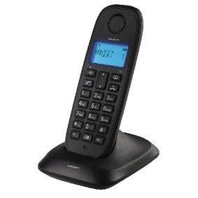 Telefoon Draadloos (DECT) Zwart