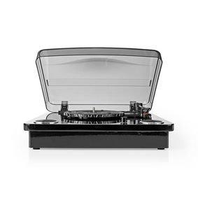 Platenspeler | 18 W | Bluetooth | USB-Conversie | Cover | Zwart