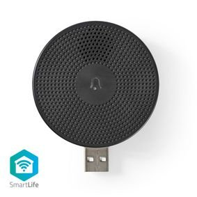 Nedis | Draadloze Deurbelontvanger | Accessoire voor WIFICDP10GY | USB