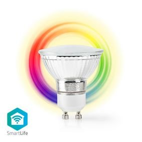 Nedis | WiFi Smart LED-Lamp | Full-Colour en Warm Wit | GU10