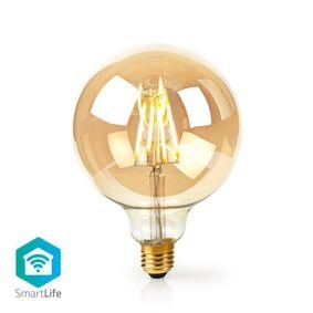 Nedis | WiFi Smart LED Filament Lamp | E27 | 125 mm | 5 W | 500 lm