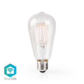 Nedis | WiFi Smart LED Filamentlamp | E27 | ST64 | 5 W | 500 lm