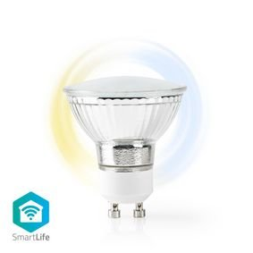 Nedis | WiFi Smart LED-Lamp | Warm tot Koel Wit | GU10