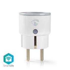 Nedis   WiFi Smart Stekker   Power Monitor   French Type E   10 A
