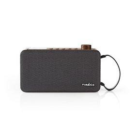 Digitale DAB+ radio | 12 W | FM | Bluetooth® | Bruin / Zwart