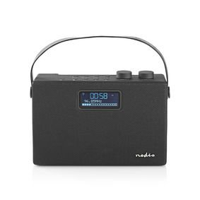 Digitale DAB+ radio | 15 W | FM | Bluetooth® | Zwart / zwart
