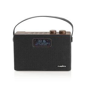 Digitale DAB+ radio | 15 W | FM | Bluetooth® | Bruin / zwart