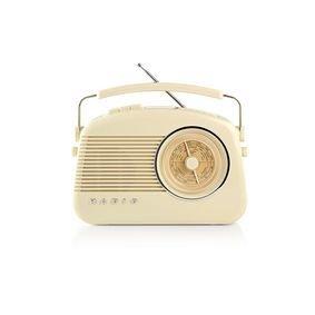 DAB+-radio | 5,4 W | FM | Draaggreep | Beige