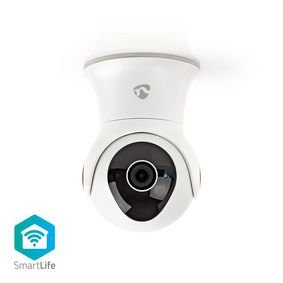Nedis | WiFi smart IP-camera | Draaien/Kantelen | Full-HD 1080p | Buiten | Waterbestendig