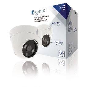 HD Dome Beveiligingscamera IP66 Wit