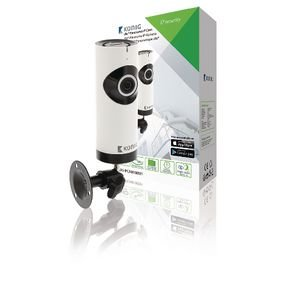 HD IP-Camera 1280x720 Panorama Wit/Zwart