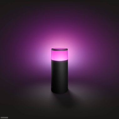 Philips | Philips Hue Outdoor Calla Sokkel Zwart, basis (White and Color)