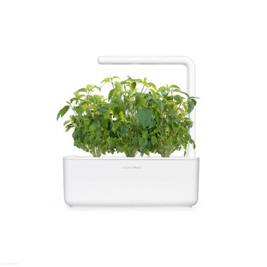 Click & Grow Smart Garden 3 Wit (Incl 3 basilicum plantjes)