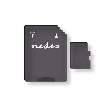 Nedis | Geheugenkaart | microSDHC | 16 GB | Tot 90 Mbps schrijven | Klasse 10