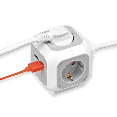 Brennenstuhl | ALEA Power Cube | USB verdeelstekker